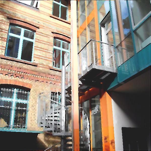 1401 FB Architektur Kreuzberg 2 gemalt