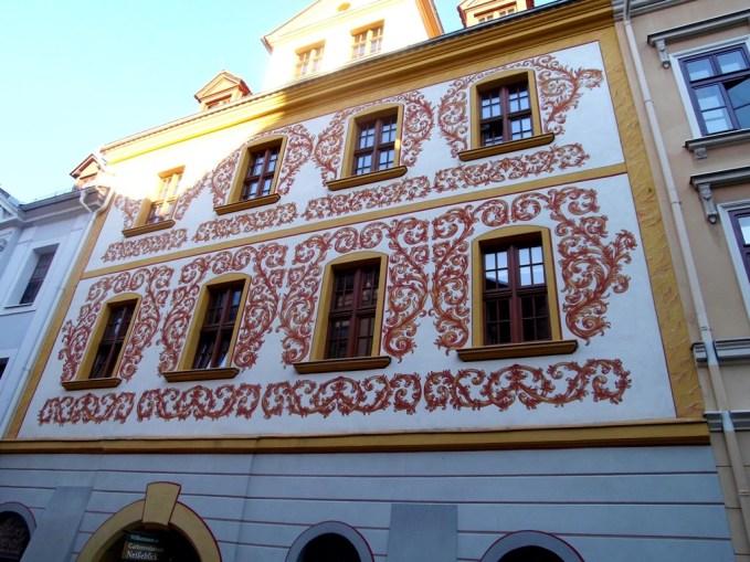 2606 Architektur Görlitz Hauswandmalerei 02